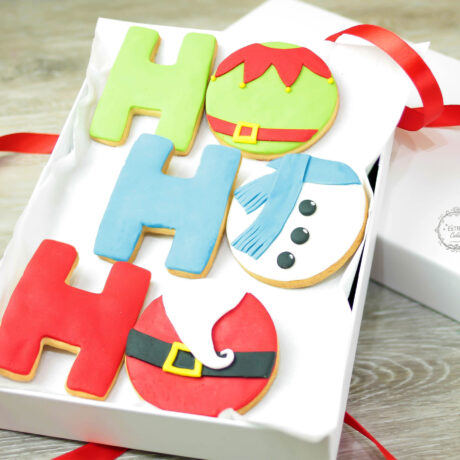 Fun-Ho-Ho-Ho-Christmas-biscuit-gift-box-by-Estrele-Cakes