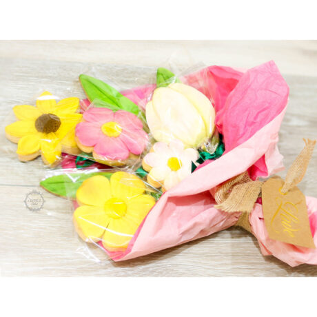 Beautiful-flower-cookie-bouquet-for-valentines-gluten-free